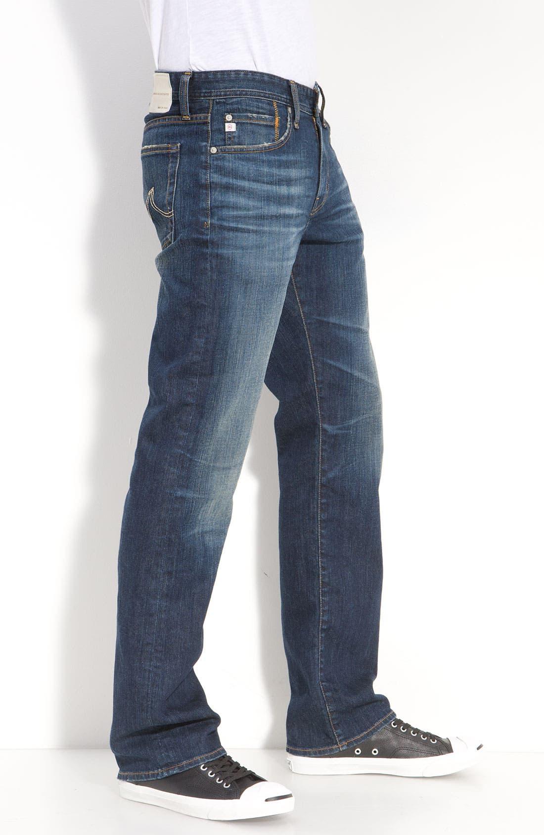 ,                             'Protégé' Straight Leg Jeans,                             Alternate thumbnail 58, color,                             485