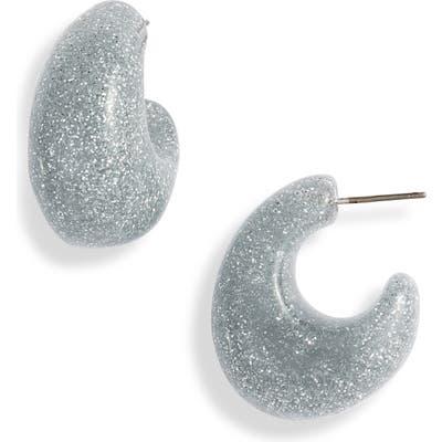 Kate Spade Glitter Huggie Earrings