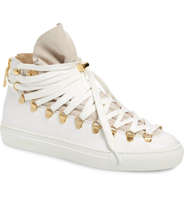 SWEAR Redchurch Sneaker, Main, color, WHITE LEATHER