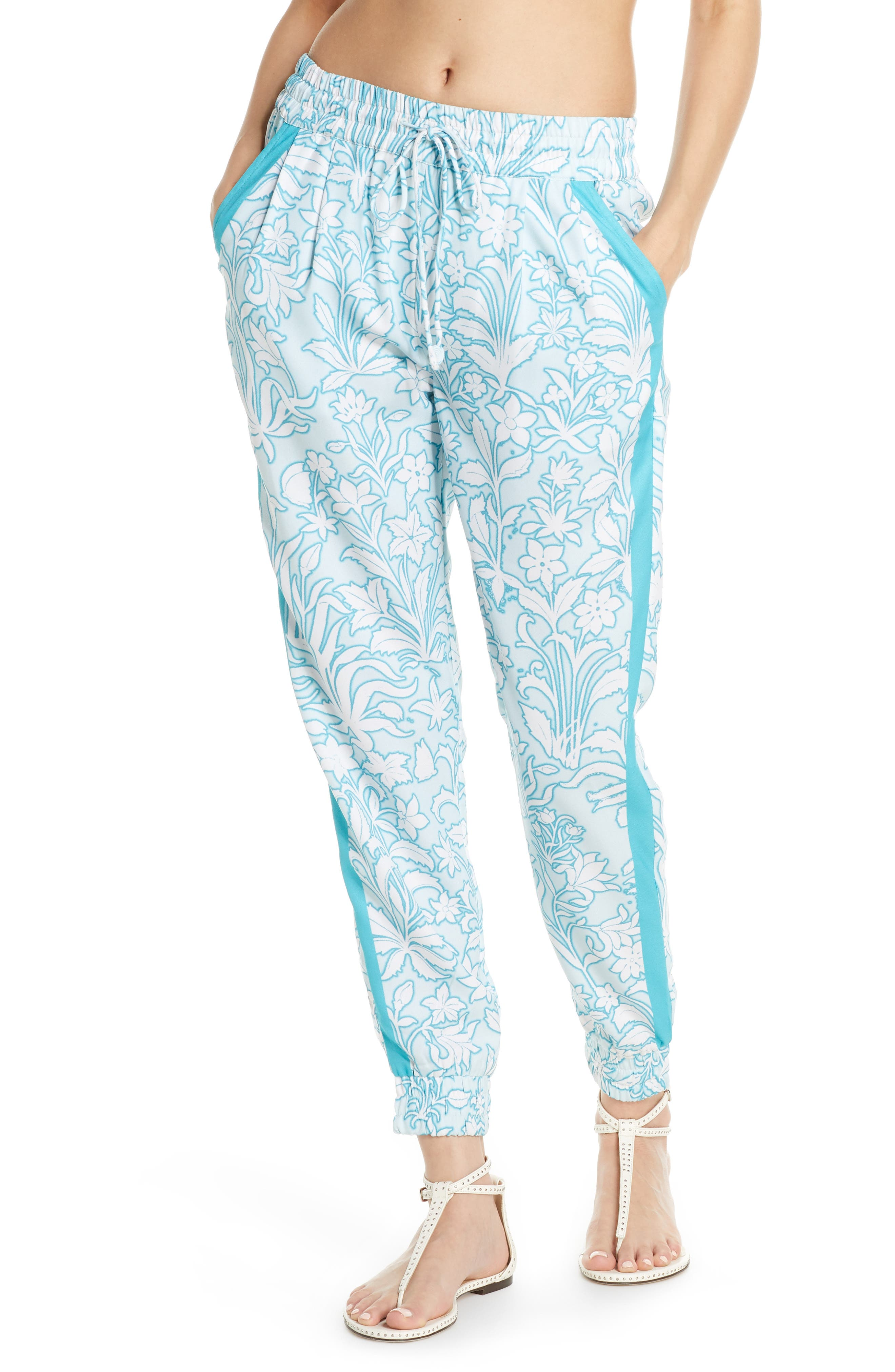 Hemant & Nandita Cover-Up Pants, Blue