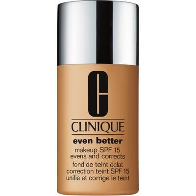 Clinique Even Better Makeup Foundation Spf 15 - 100 Deep Honey