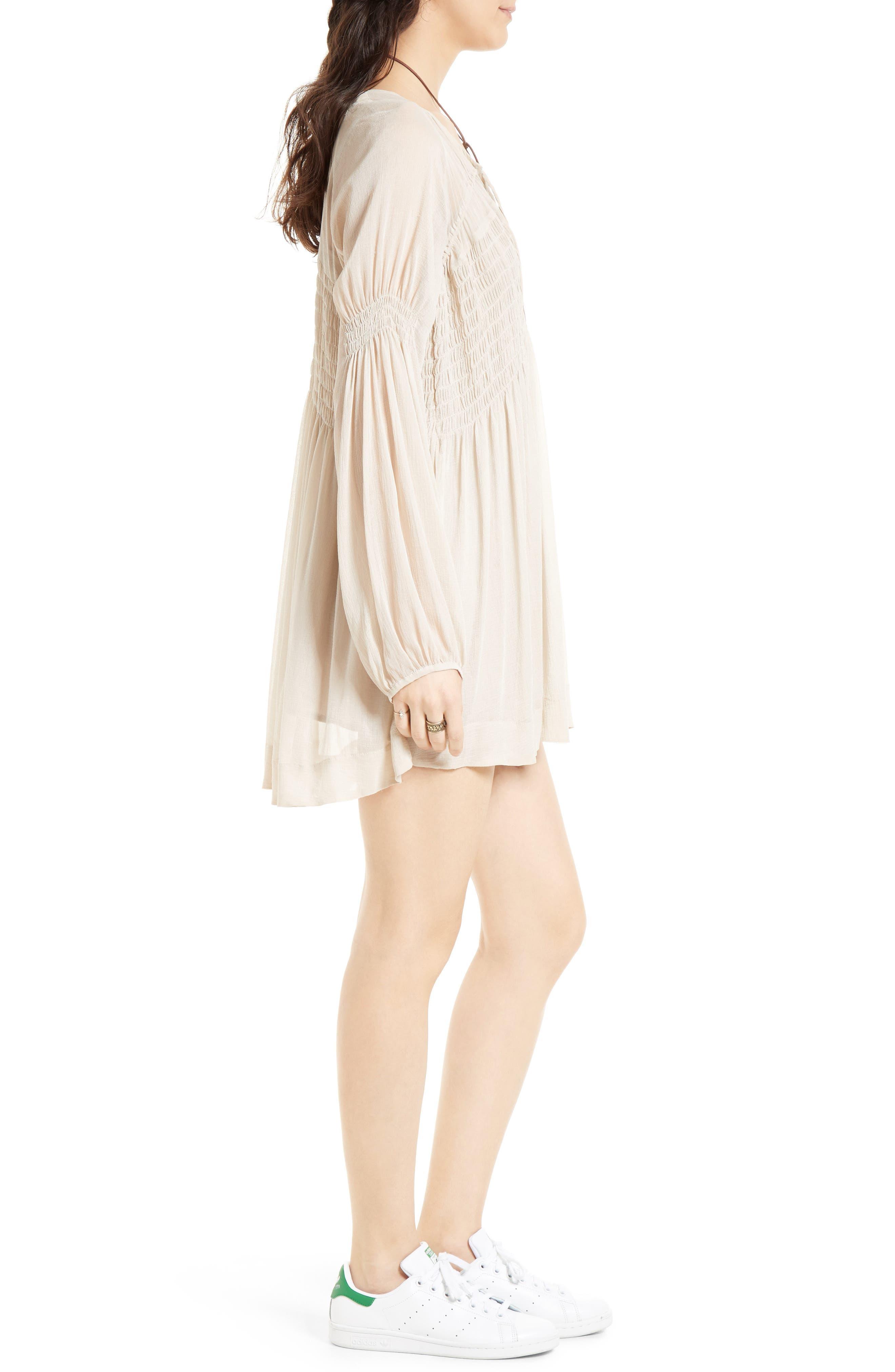 ,                             Lini Babydoll Dress,                             Alternate thumbnail 3, color,                             030
