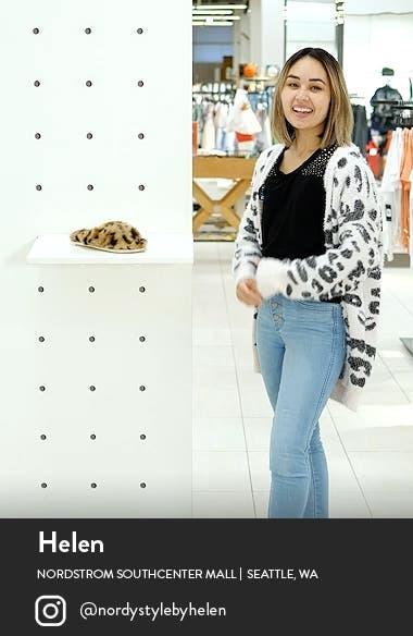Cozy Leopard Faux Fur Slipper, sales video thumbnail