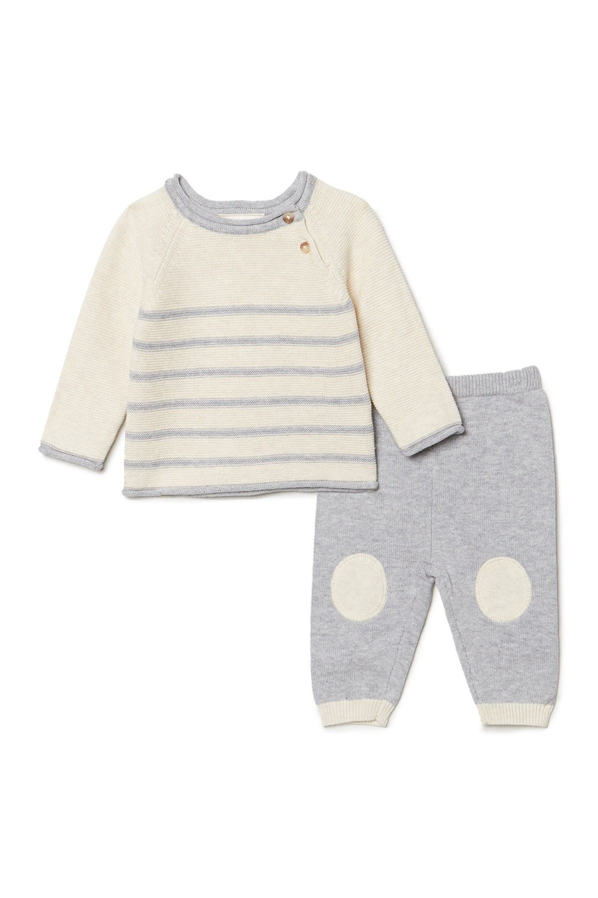 Image of Miniclasix Knit Sweater & Pants - 2-Piece Set