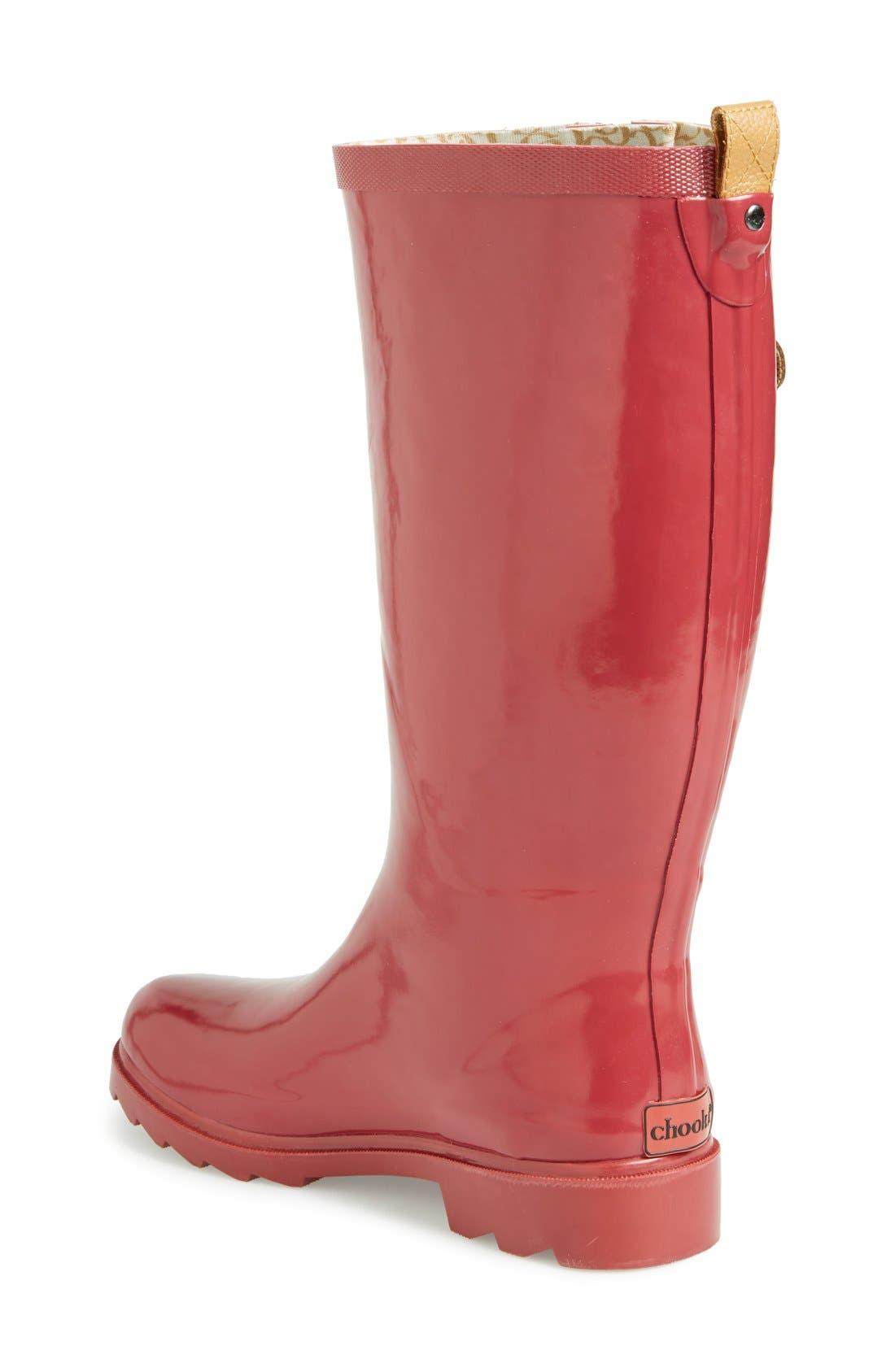 ,                             'Top Solid' Rain Boot,                             Alternate thumbnail 118, color,                             602