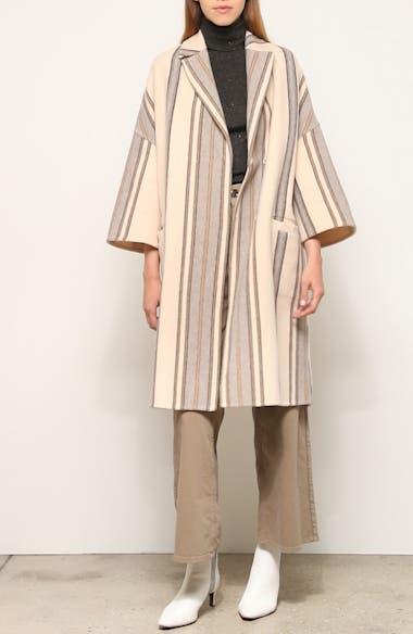 Blanket Stripe Wool & Cashmere Coat, video thumbnail
