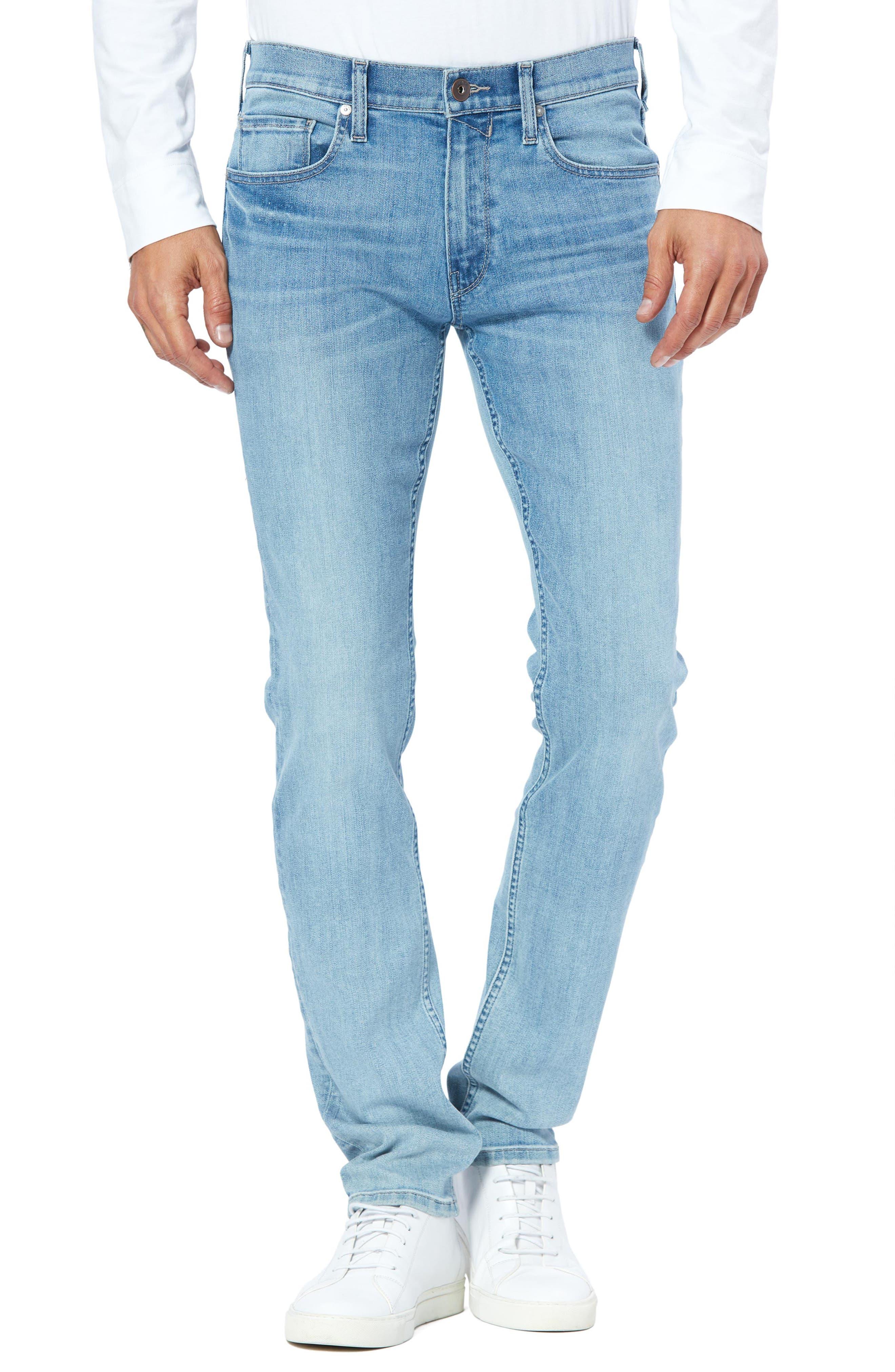 Men's Paige Lennox Slim Fit Jeans,  33 - Blue