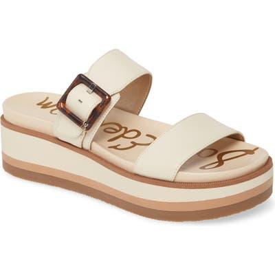 Sam Edelman Agustine Platform Sandal- White