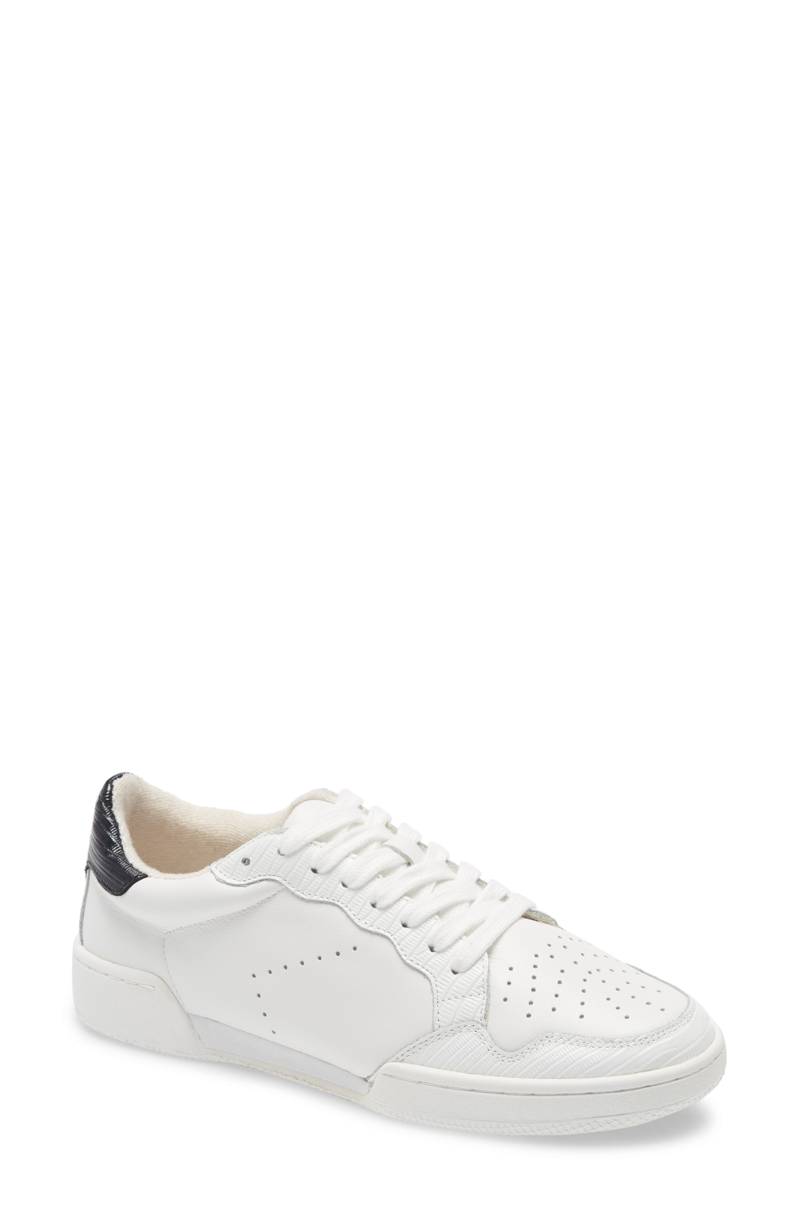 Image of alice + olivia Jerri Perforated Leather Sneaker