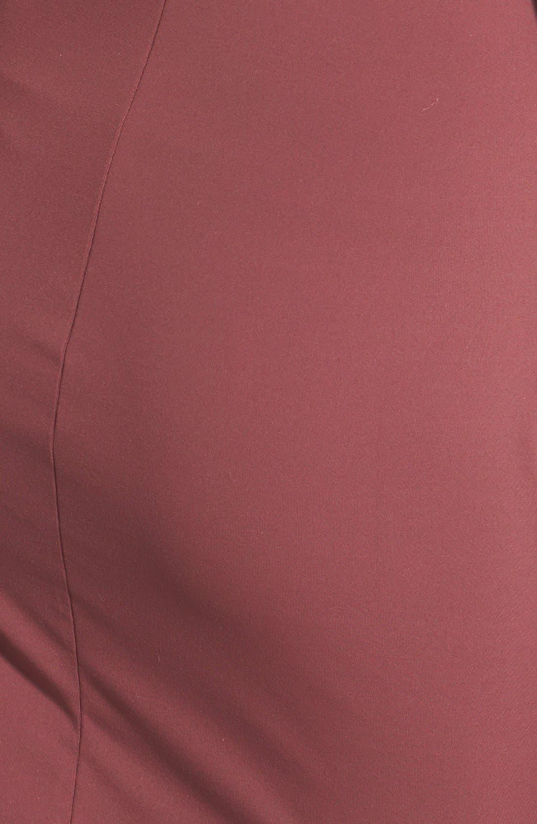 ,                             V-Neck Body-Con Dress,                             Alternate thumbnail 27, color,                             603