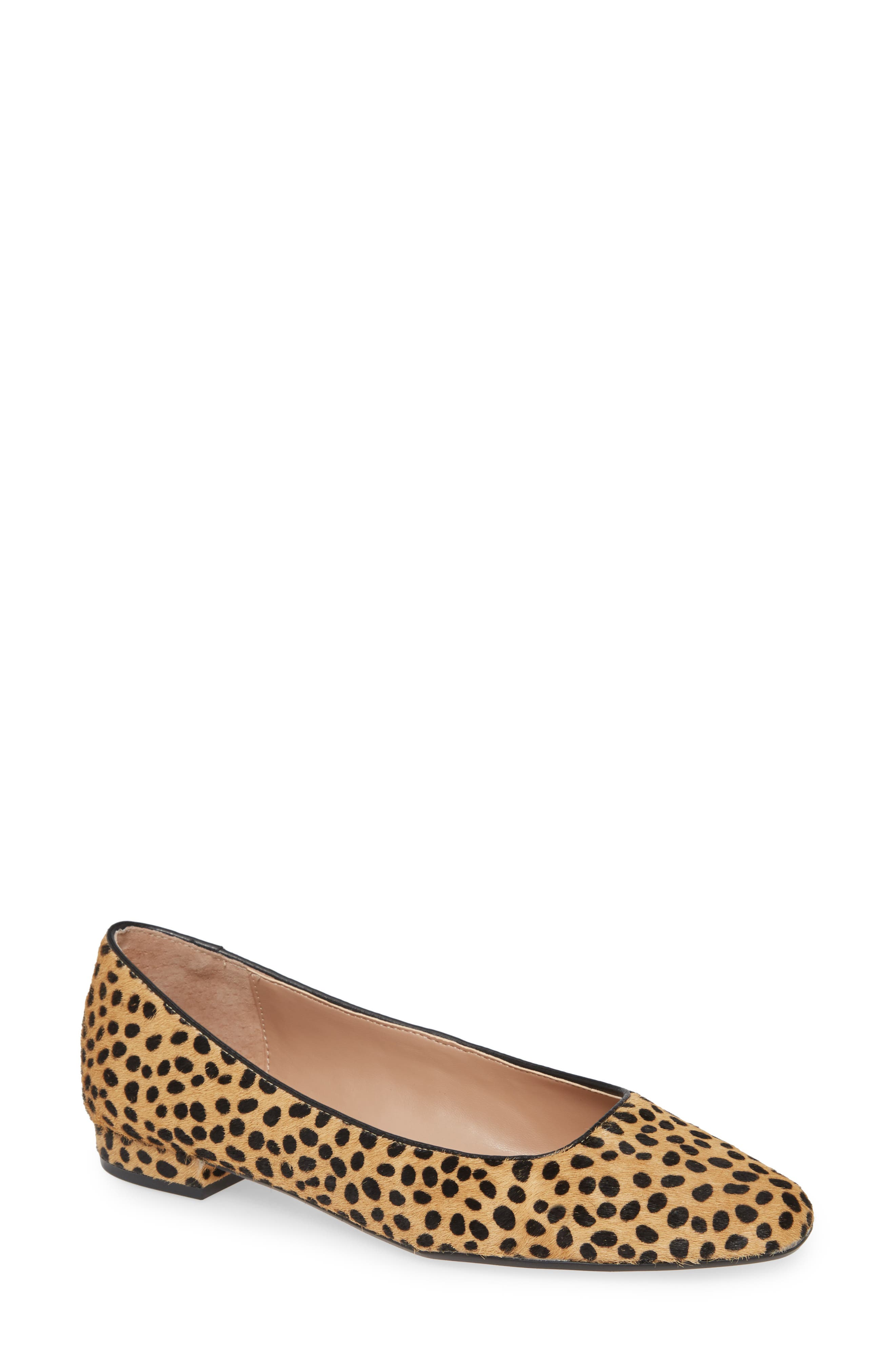 Image of Steven By Steve Madden Bantry Genuine Calf Hair Flat - Wide Width Available