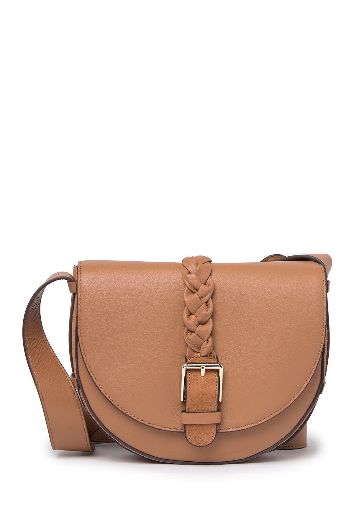 Image of Rachel Zoe Etta Leather Saddle Bag