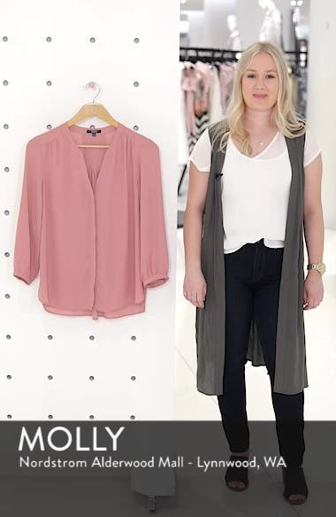 Pleat Back Blouse, sales video thumbnail
