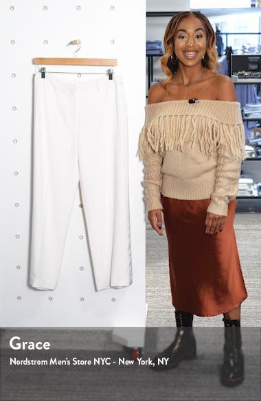 Barletta Satin Side Stripe Trousers, sales video thumbnail