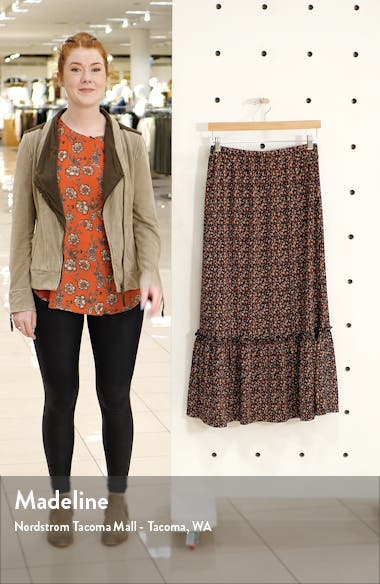 Pella Tiered Maxi Skirt, sales video thumbnail