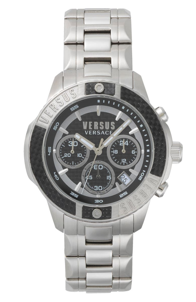 VERSUS Versace Admiralty Chronograph Bracelet Watch 44mm