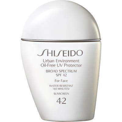 Shiseido Urban Environment Oil-Free Uv Protector Broad Spectrum Sunscreen Spf 42