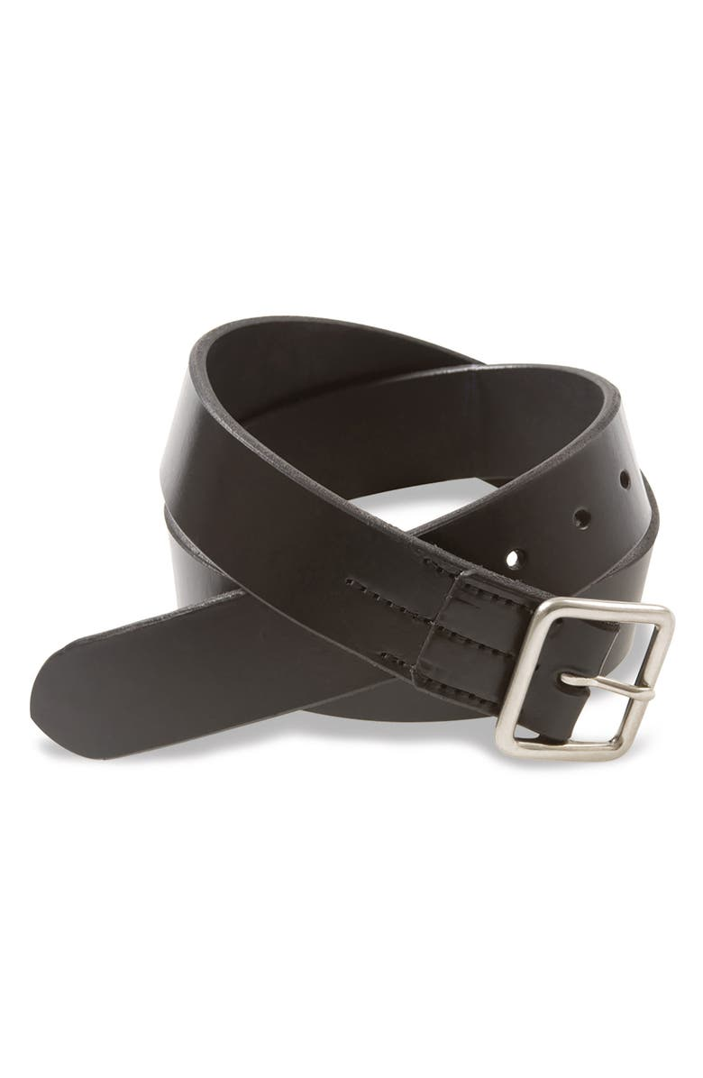 RED WING Leather Belt, Main, color, BLACK ENGLISH BRIDLE