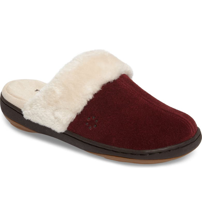 TEMPUR-PEDIC<SUP>®</SUP> Kensley Slipper, Main, color, RUBY SUEDE