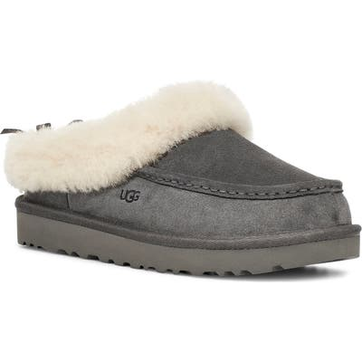 UGG Grove Genuine Shearling Trim Slipper