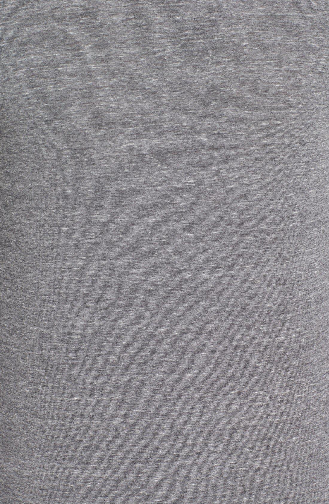 ,                             Triblend Scallop Long Sleeve Crewneck T-Shirt,                             Alternate thumbnail 10, color,                             020
