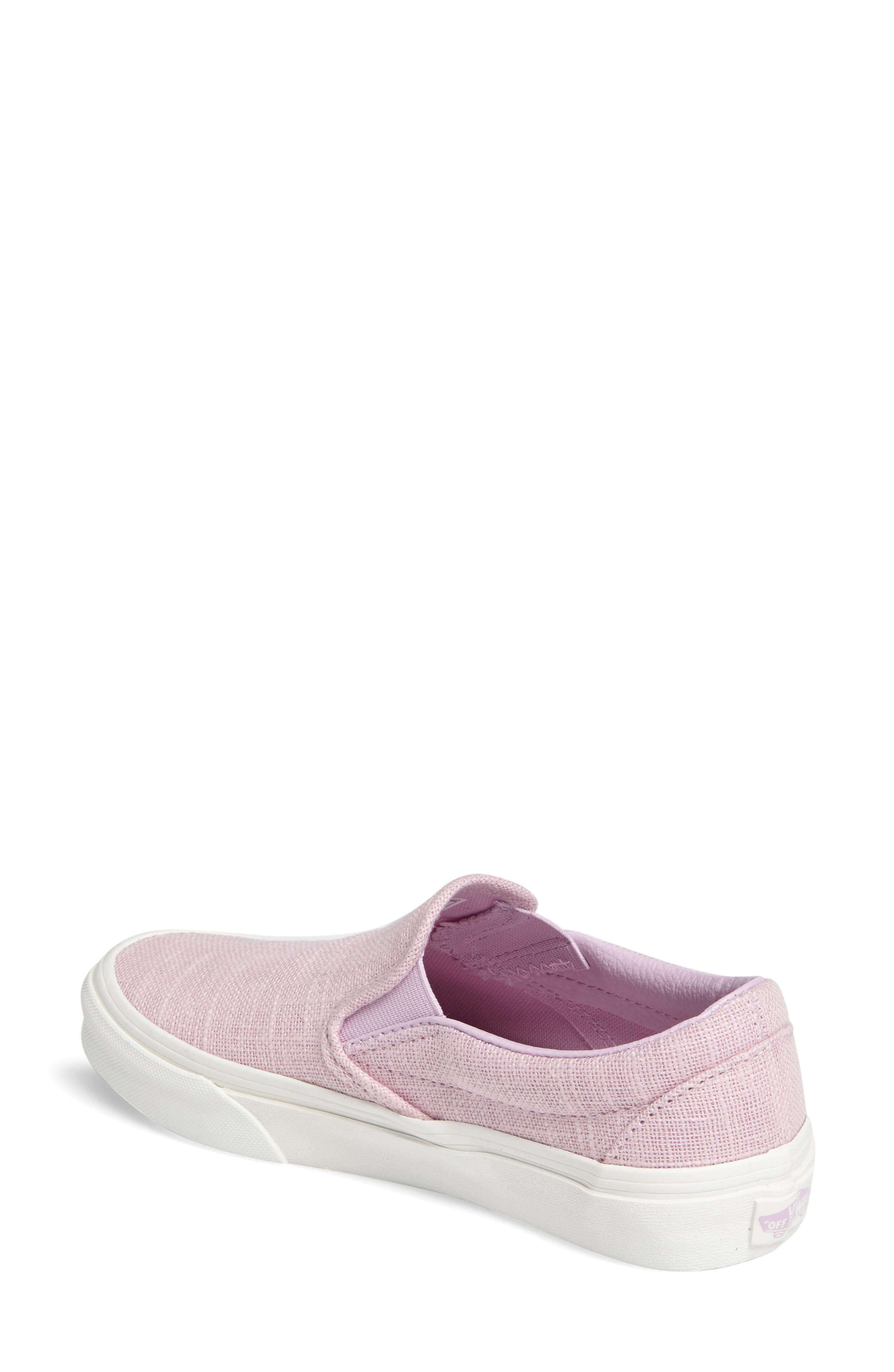 ,                             Classic Slip-On Sneaker,                             Alternate thumbnail 383, color,                             650