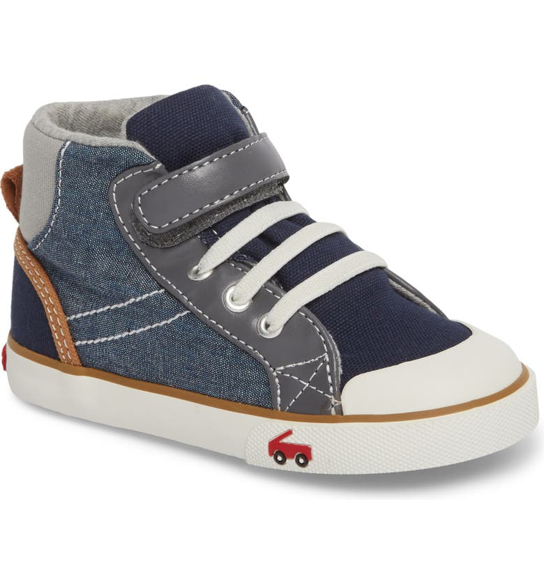 SEE KAI RUN Dane Sneaker, Main, color, CHAMBRAY MULTI