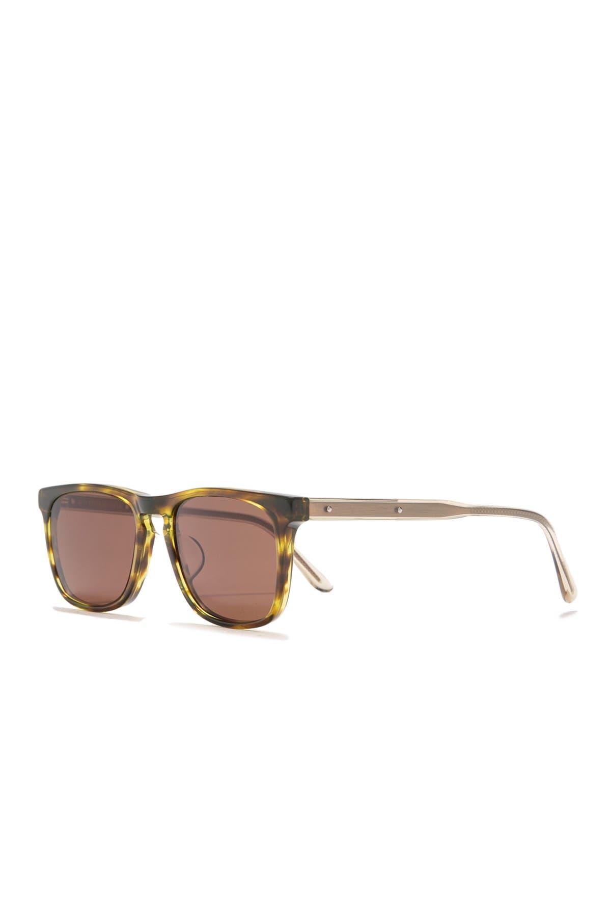 Image of Bottega Veneta 52mm Square Sunglasses