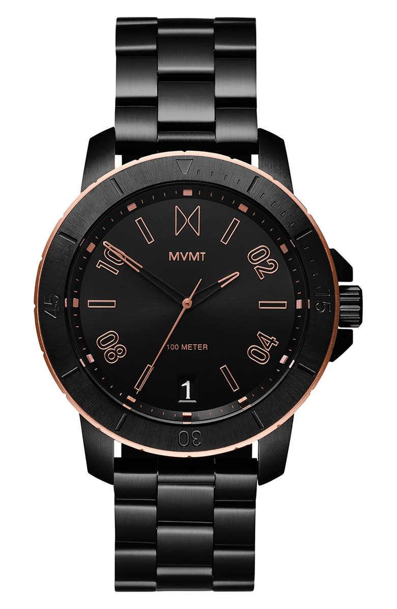 MVMT Denali Bracelet Watch, 42mm, Main, color, 001