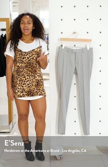 Super Skinny Fit Pinstripe Suit Dress Pants, sales video thumbnail