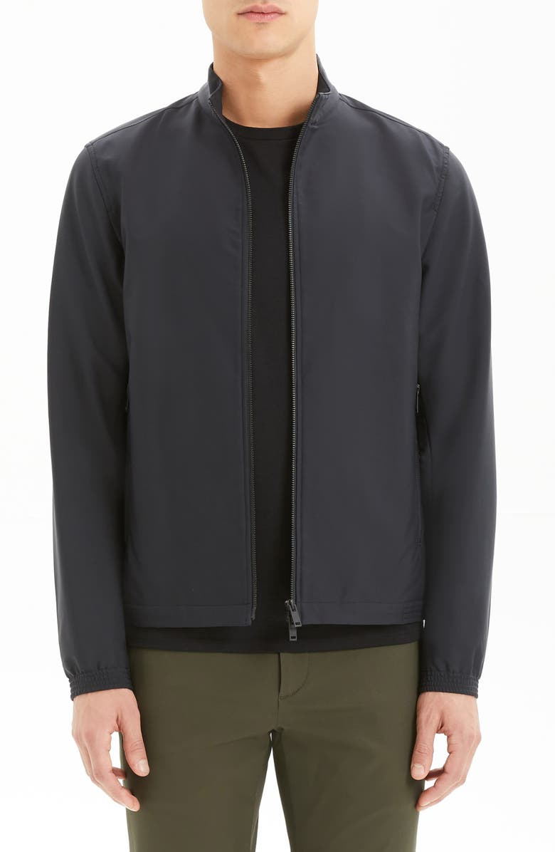 THEORY Neoteric Bomber Jacket, Main, color, BLACK