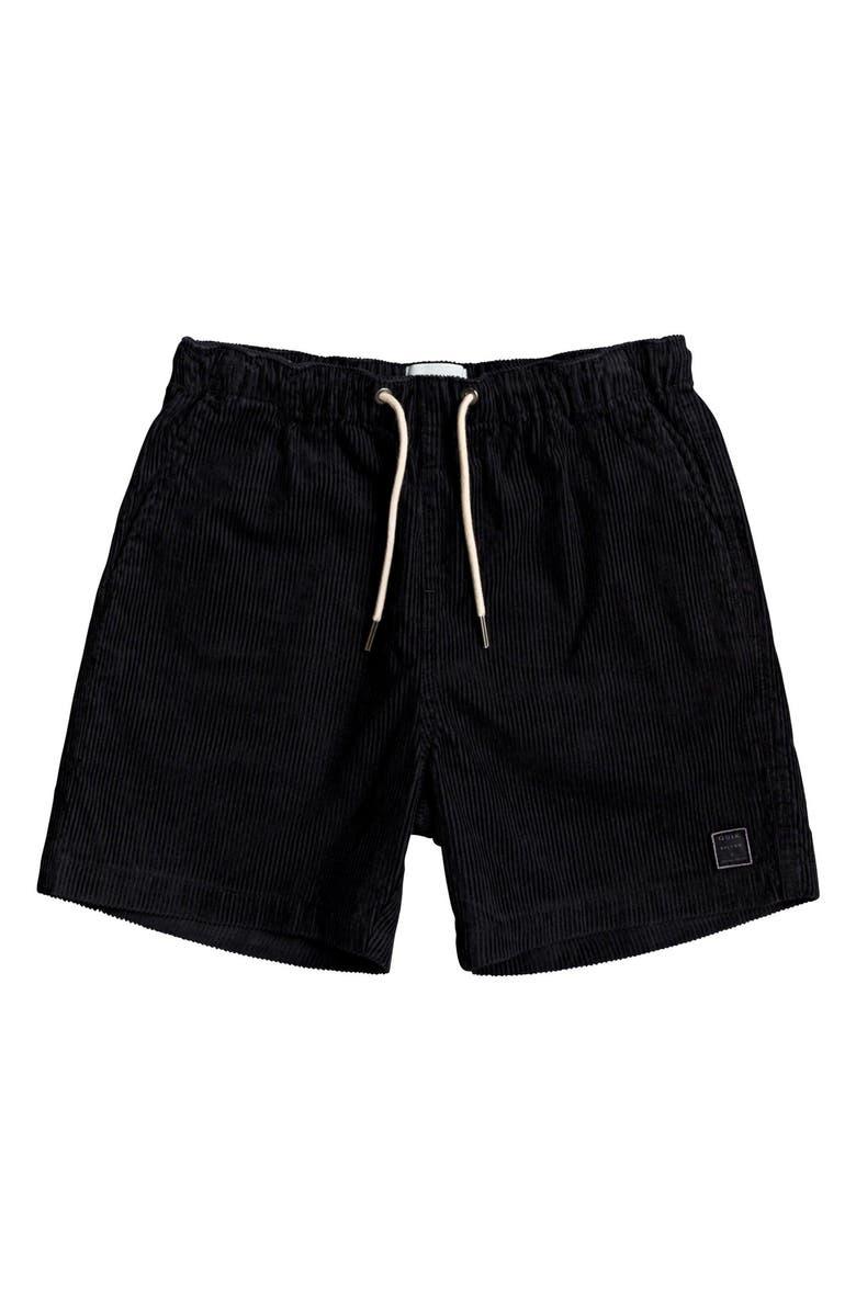 QUIKSILVER Wax Out Corduroy Shorts, Main, color, TARMAC