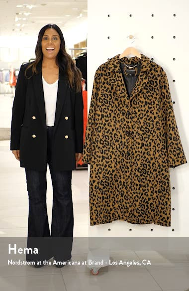 Leopard Print Coat, sales video thumbnail