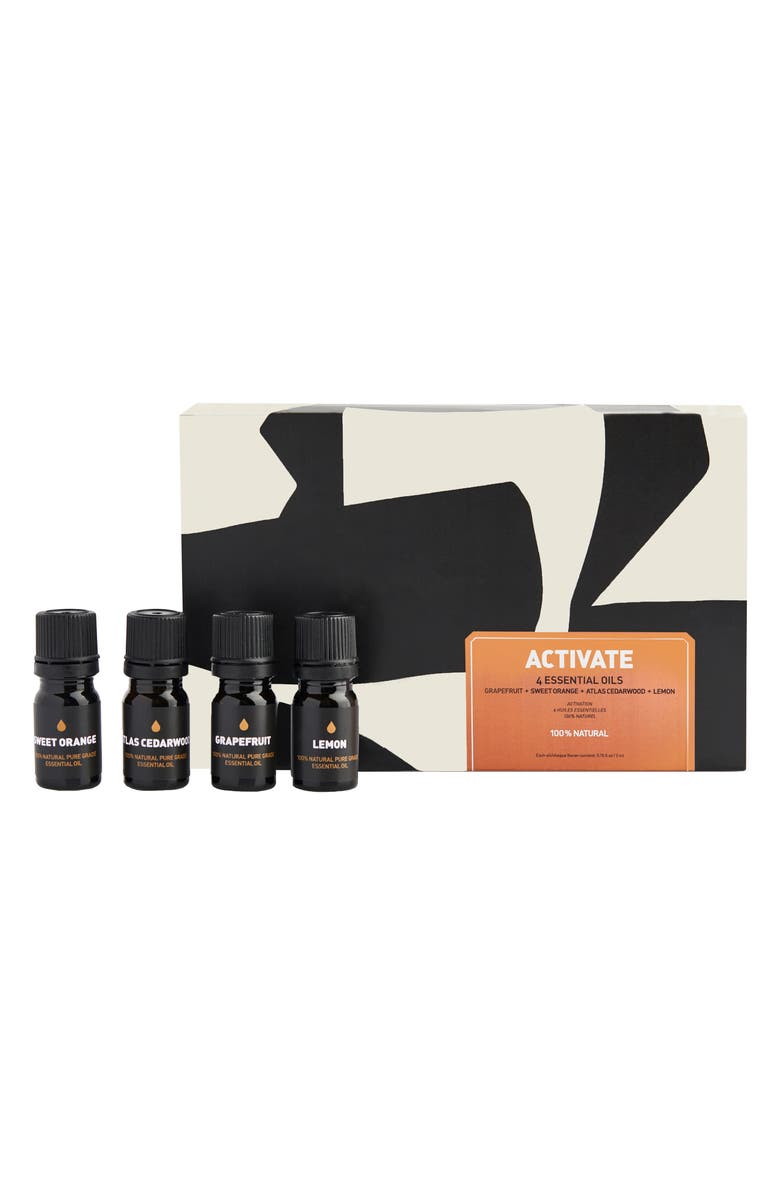 WAY OF WILL Activate Essential Oil Gift Set, Main, color, 100