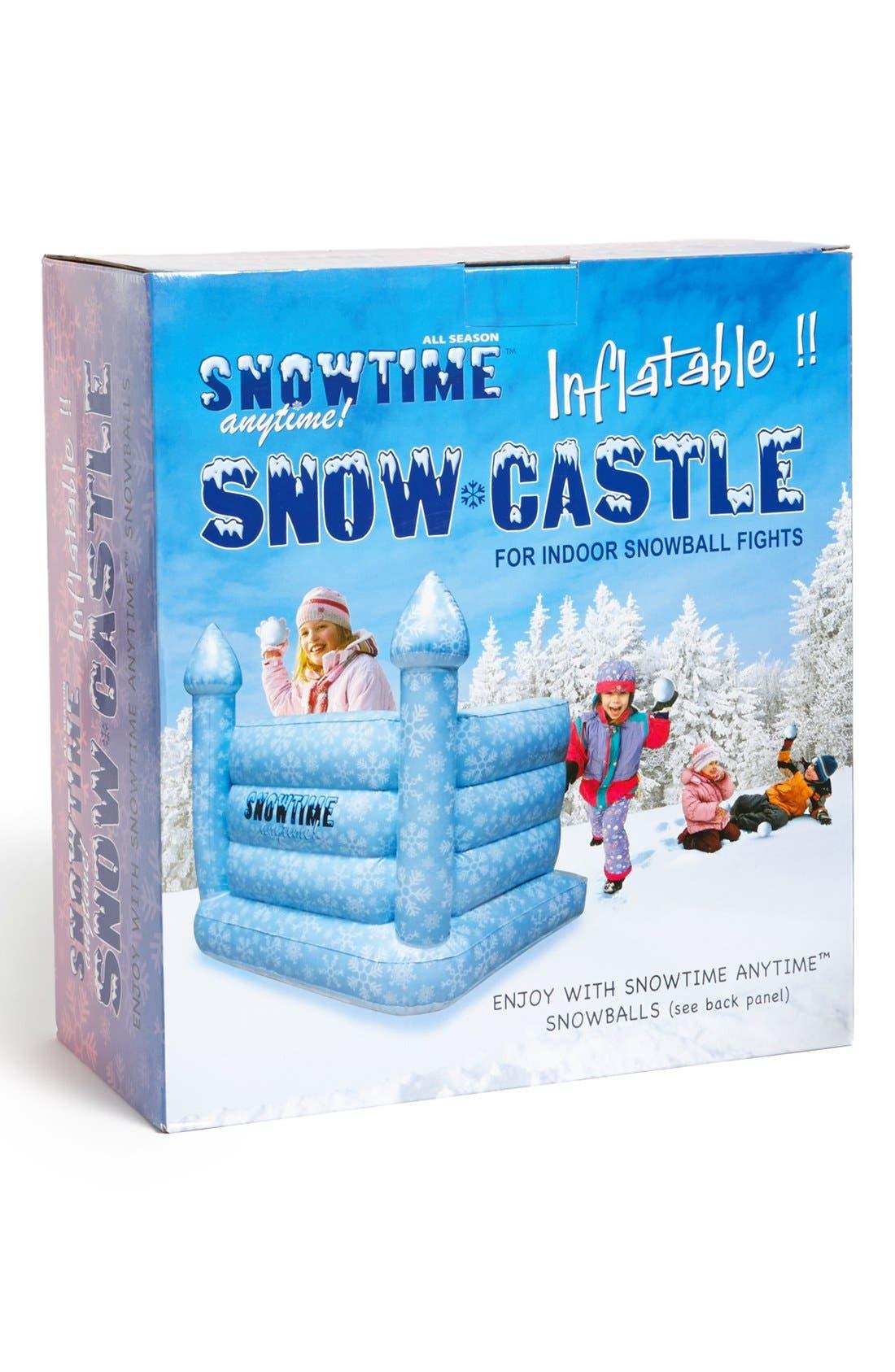 ,                             Inflatable Snow Castle,                             Main thumbnail 1, color,                             000