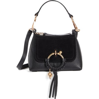 See By Chloe Mini Joan Leather Crossbody Bag -