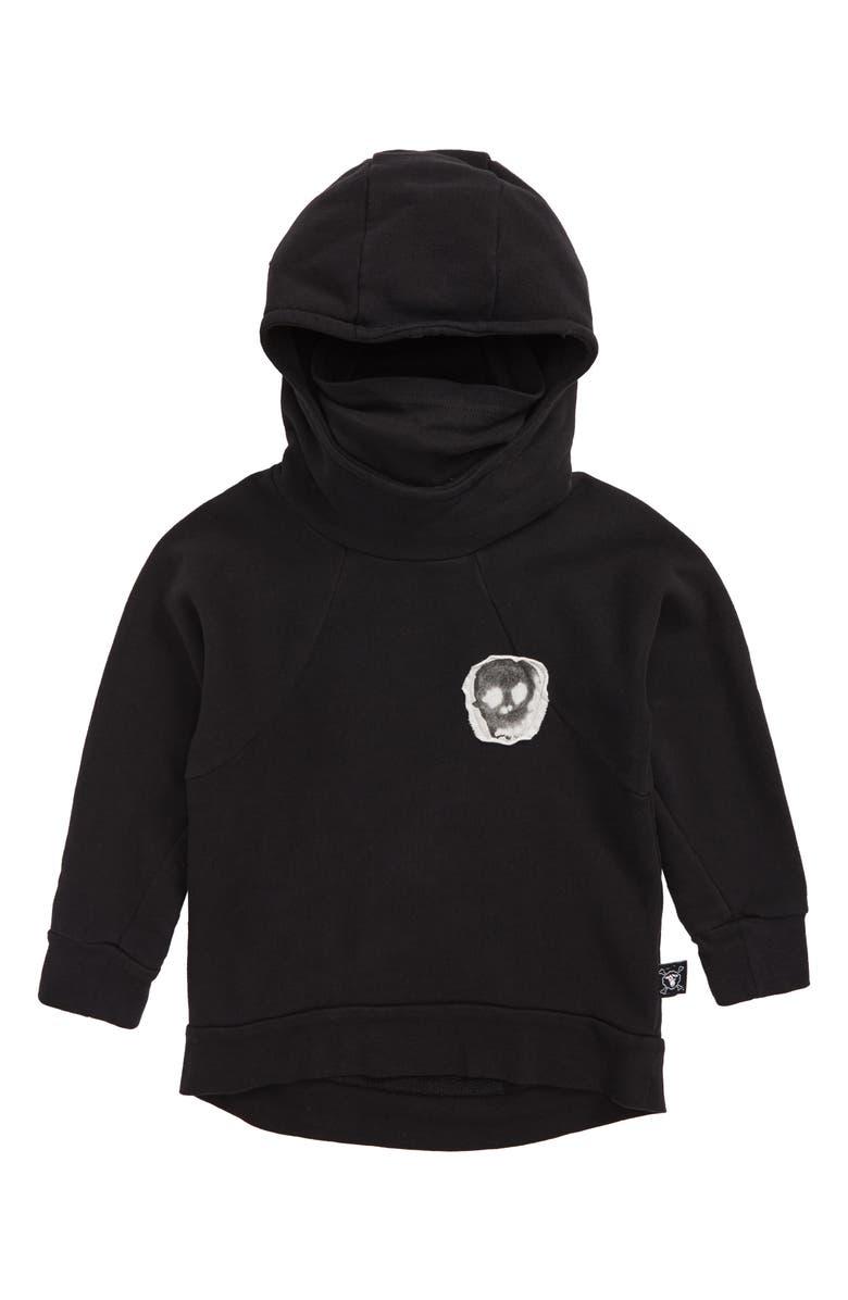 NUNUNU Ninja Sweatshirt, Main, color, 001