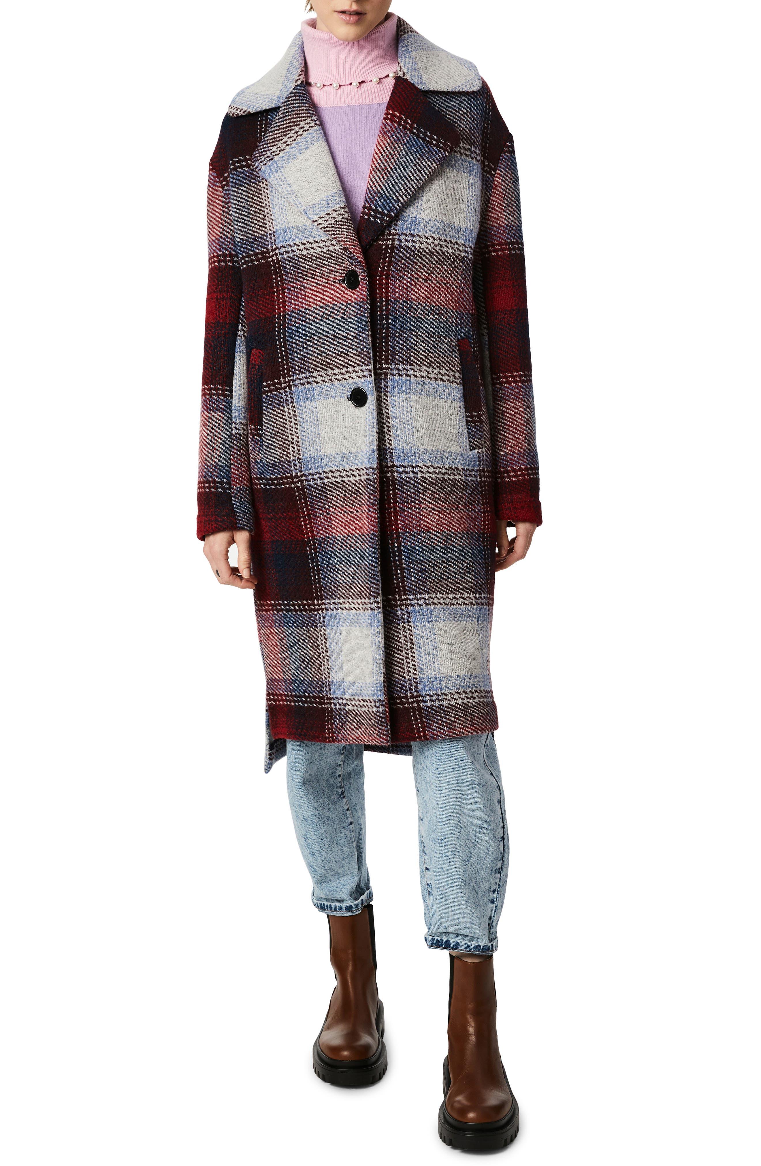 Plaid Oversize Coat