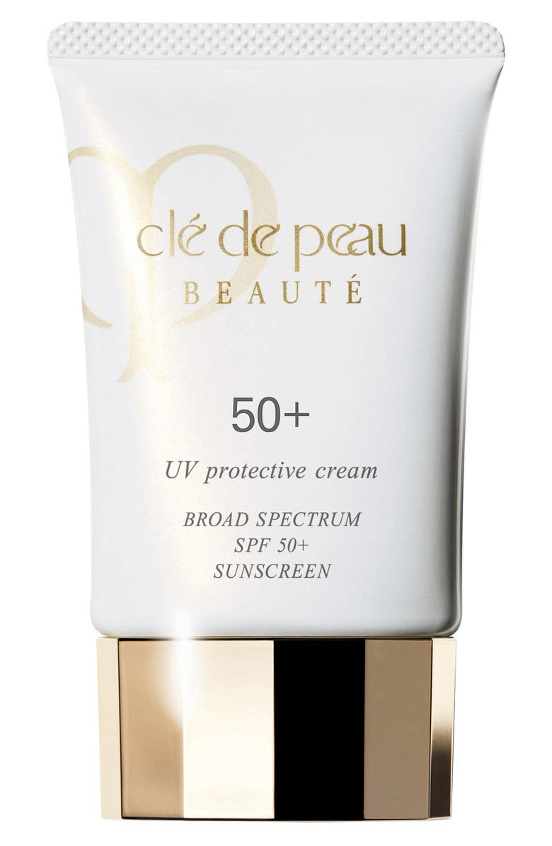 CLÉ DE PEAU BEAUTÉ UV Protective Cream Broad Spectrum SPF 50+ Sunscreen, Main, color, NO COLOR