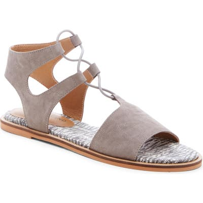 Lucky Brand Feray Gladiator Sandal- Grey