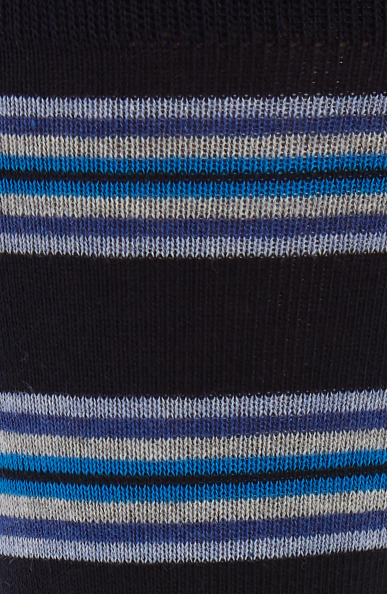 ,                             Rowes Stripe Socks,                             Alternate thumbnail 2, color,                             NAVY/ BLUE