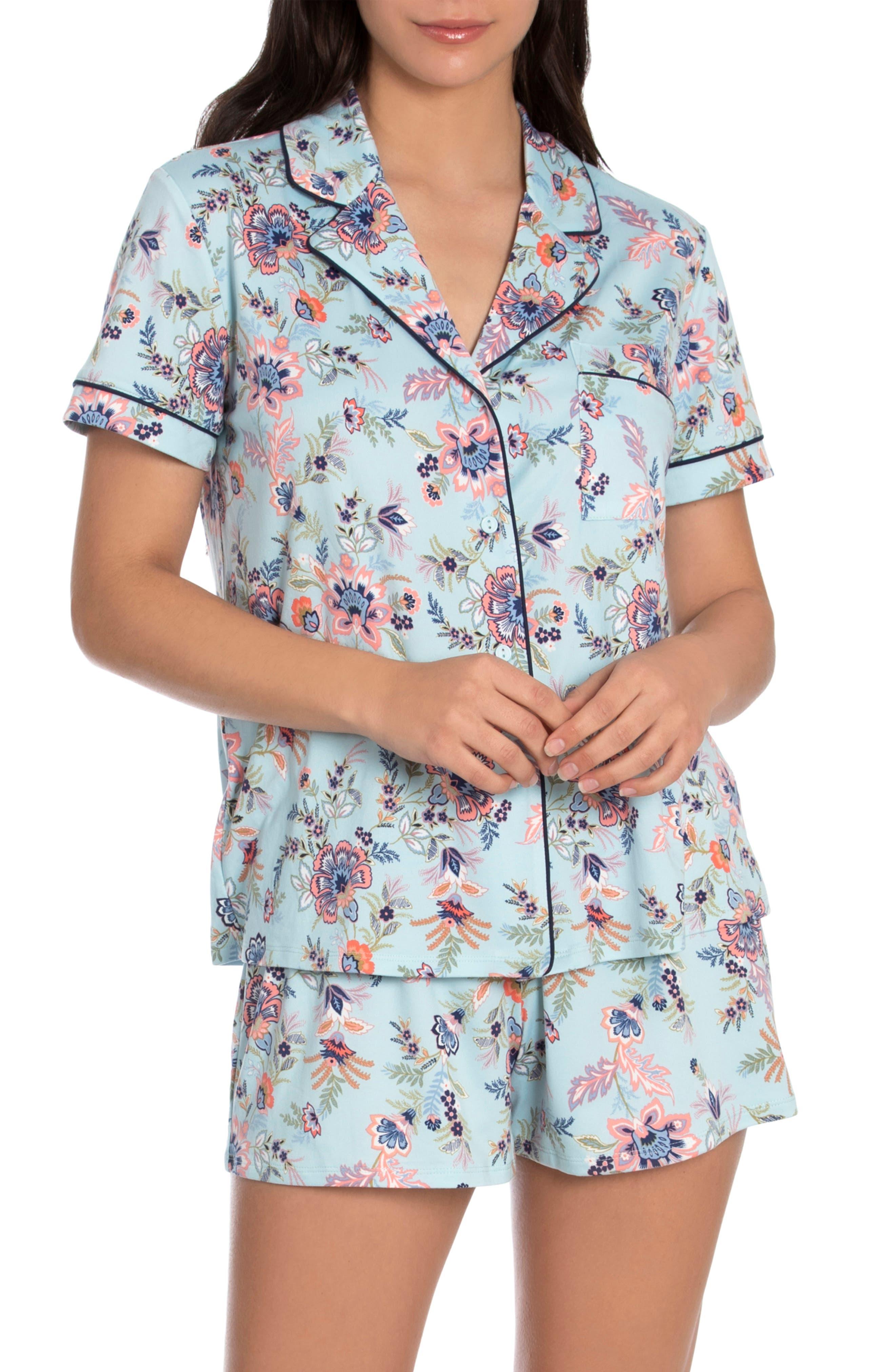 Tangalle Floral Print Short Pajamas