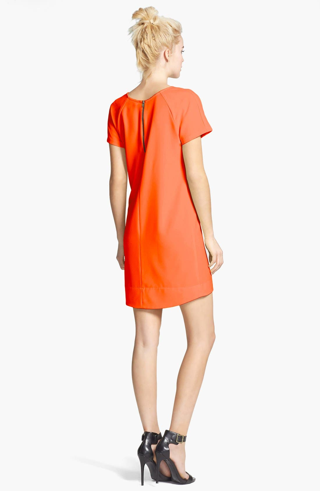 ,                             Crepe Shift Dress,                             Alternate thumbnail 21, color,                             800