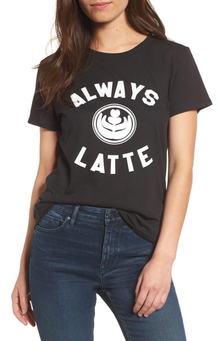 SUB_URBAN RIOT Always Latte Tee, Main, color, 001