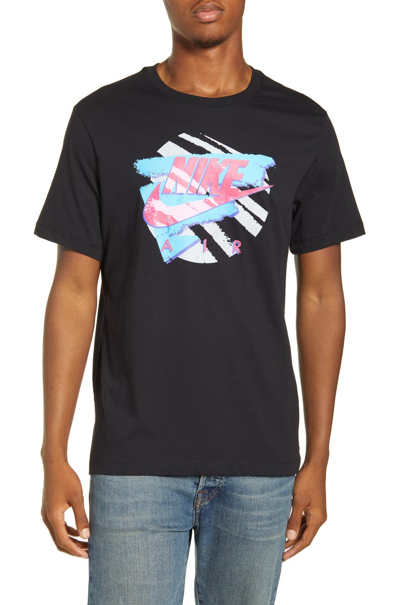 NIKE Explosion 2 Graphic T-Shirt, Main, color, BLACK