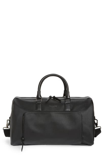 Ted Baker ANDER DUFFLE BAG - BLACK