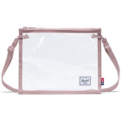 Herschel Supply Co. Alder Clear Pouch Crossbody - Pink