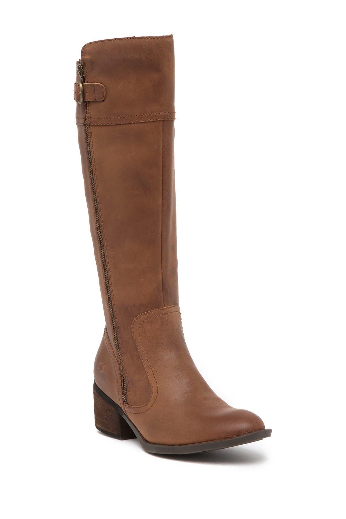 Born | Fannar Leather Knee High Boot