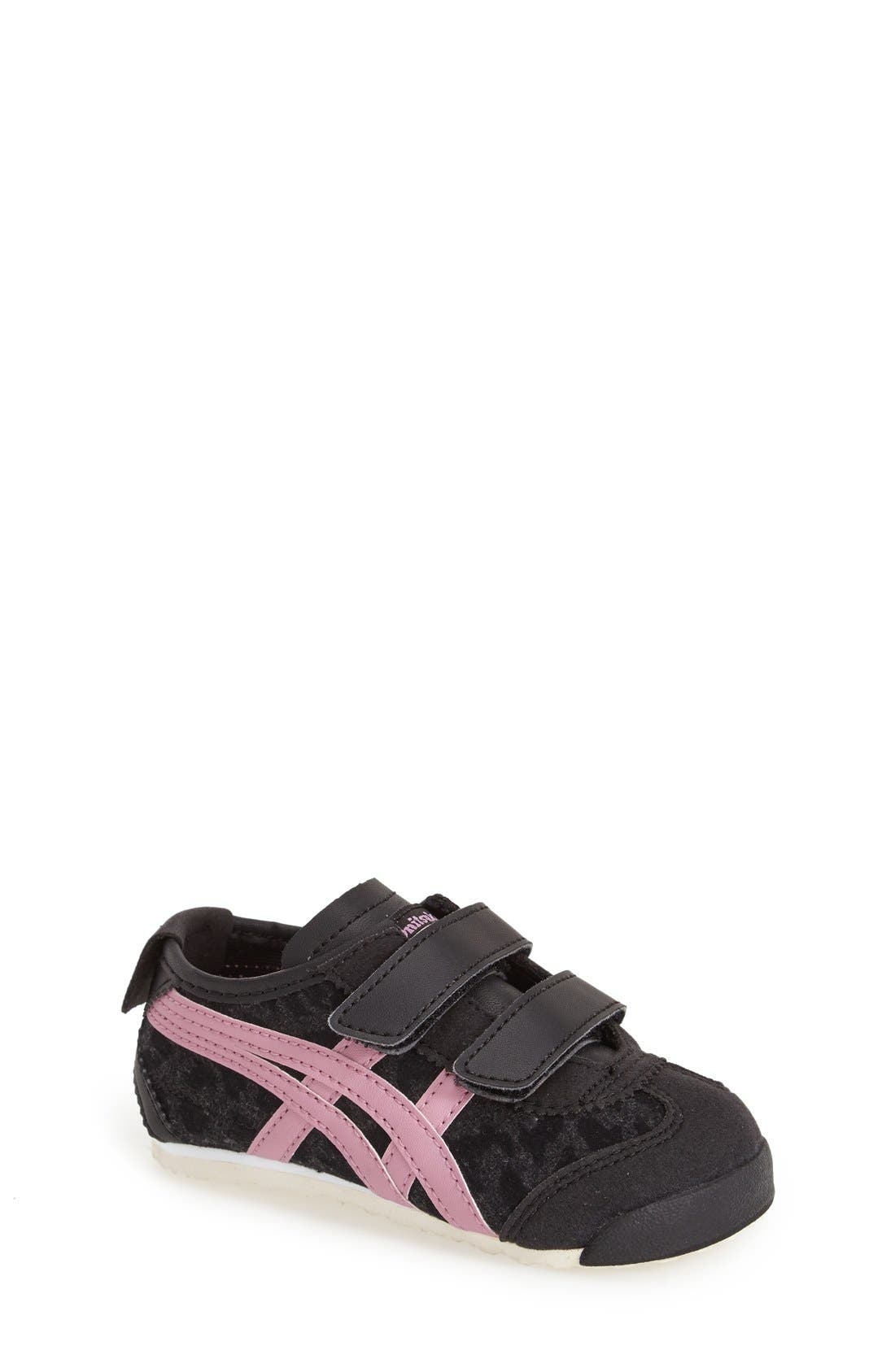 onitsuka tiger mexico 66 black and pink jersey blanca