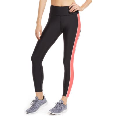 Soul By Soulcycle High Waist Colorblock Tights, Black
